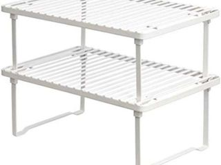 Basics Stackable Kitchen Storage Shelves