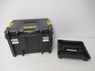 As Is  DEWAlT TSTAK Tool Box  Deep  DWST17806