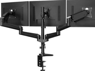 Triple Monitor Stand   Full Motion Articulating