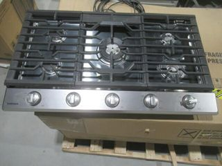 As Is  Samsung 36  5 Burner Gas Cooktop