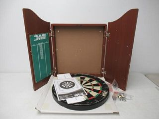 As Is  DMI Sports Deluxe Bristle Dartboard