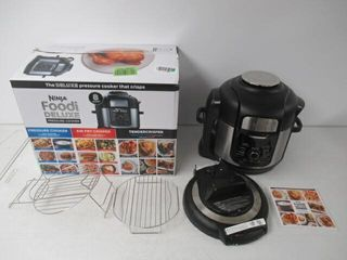 Used  Ninja FD401 Foodi 8 qt  9 in 1 Deluxe Xl