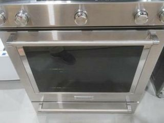 KitchenAid 30 Inch 5 Burner Dual Fuel Convection