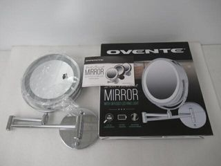 Ovente lighted Wall Mounted Makeup Mirrors 7 Inch