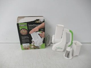 Used  Presto Salad Shooter Electric