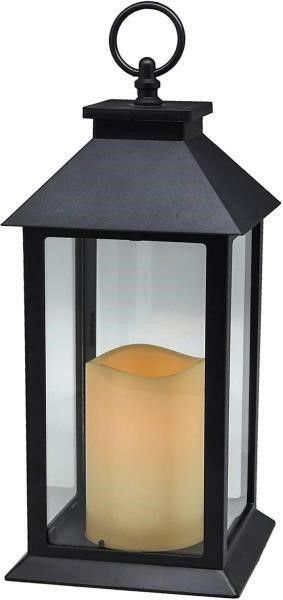 Hanging Glass Panes lantern Portable lED Candle