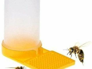 2  Beehive Beekeeping Water Dispenser Bee