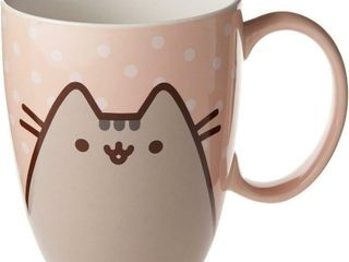 Enesco Pusheen by Our Name is Mud Polkadot Coffee