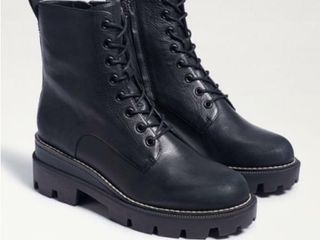 Sam Edelman Women s 8 5 Garret Combat Boot  Black