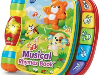 VTech Musical Rhymes Book  Frustration Free