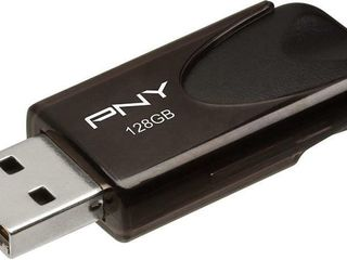PNY 128GB Attache 4 USB 2 0 Flash Drive   Black