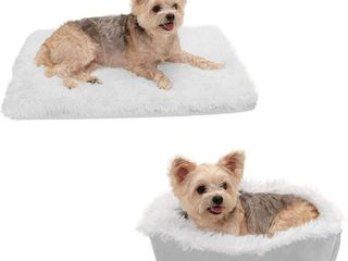 Furhaven Pet Dog Bed Convertible Insulated Thermal