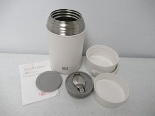 Used  FACE Soup Flask Thermal Food Jar Stainless