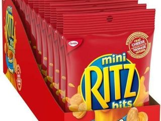 12Pc Christie Ritz Bits Cheese Sandwiches 70g