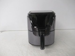 Used  Chefman 4 5 Quart Square Air Fryer with
