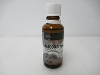 As Is  D3 1000 Drops liquid Vitamin D Supplement
