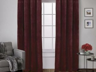 Exclusive Home Curtains Velvet Heavyweight Grommet