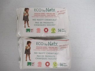 As Is  Eco by Naty Unscented Baby Wipes  168