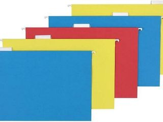 Basics Hanging Folders  legal Size  Assorted