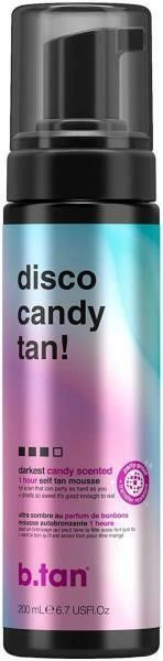 b tan Disco Candy Tan Self Tan Mousse  6 7 ounces