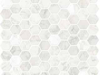 in Home NH2359 Hexagon Marble Peel   Stick