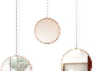 3Pc Umbra Dima Mirrors Trio of Decorative Mirrors