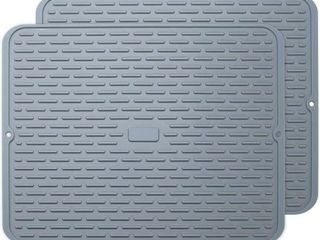 To encounter Silicone Drying Mat   17  x 13  Set