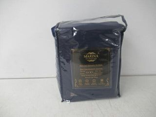 lightly Used  Marina Decoration King Sheet Set