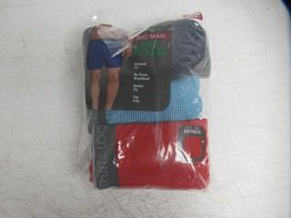 4 Pk Fruit of the loom Men s 4Xl Tall Tag Free