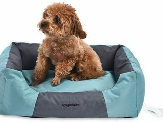 Water Resistant Pet Bed   17 7  Rectangular  Teal
