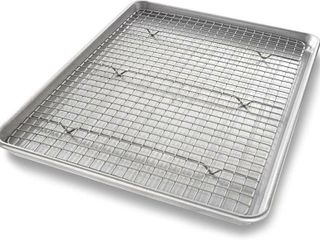 USA Pan 1606CR Half Sheet Baking Pan and Bakeable
