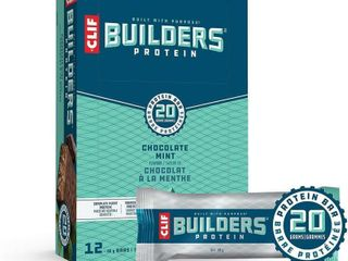 ClIF BUIlDERS   Protein Bars   Chocolate Mint