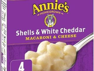 Annie s Homegrown Shells   White Cheddar Macaroni