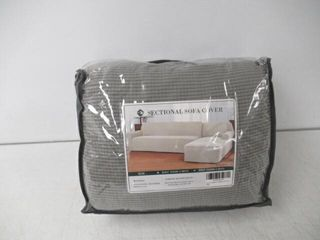 Chun Yi Sectional Sofa Cover  Dove Grey