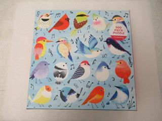 As Is  Songbirds 500 Piece  Family Puzzle