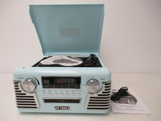 As Is  Victrola 50 s Retro 3 Speed Bluetooth
