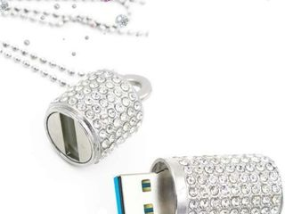 EcooDisk 128GB USB 3 0 Flash Drive Diamond