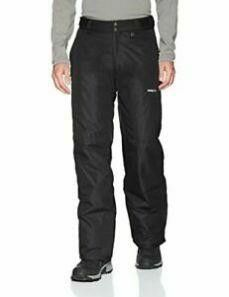 Arctix Men s Essential Snow Pants  Black  Medium