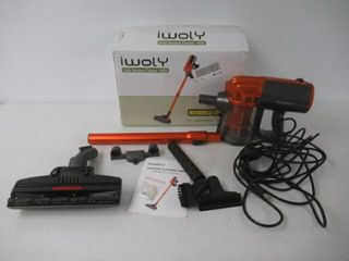 Used  iwoly V600 Vacuum Cleaner Corded Bagless
