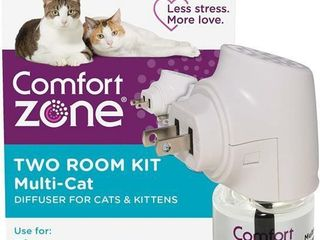 Comfort Zone MultiCat Calming Diffuser Kit  Cat