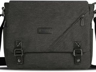 ibagbar Canvas Messenger Bag Shoulder Bag laptop