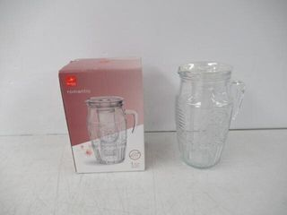 As Is  Bormioli Rocco Romantic Water Pitcher