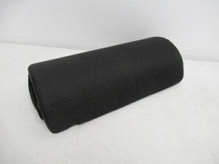 No Slip Black Half Bolster Pillow
