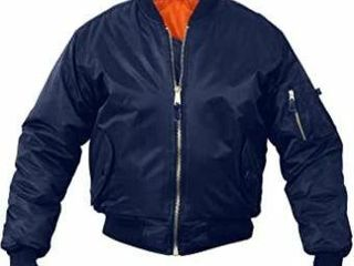 Fox Outdoor Products MA 1 Flight Jacket  Navy