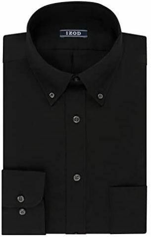 IZOD Men s MD Dress Shirt Regular Fit Stretch