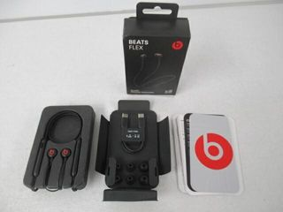 Used  Beats Flex Wireless Earphones  Black