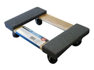 Toolmaster Wooden Moving Dolly