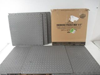 Used  ProsourceFit Puzzle Exercise Mat  EVA Foam