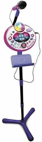 VTech Kidi Star Karaoke Machine  Pink Purple