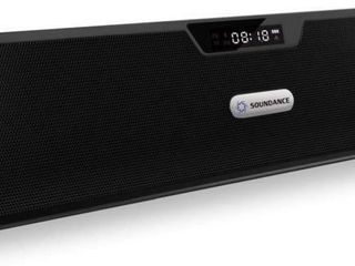 Soundance FM Radio Bluetooth Speaker Alarm Clock